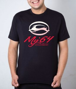 Camiseta preta My'64