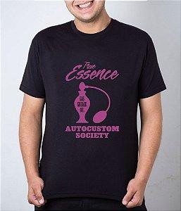 Camiseta preta True Essence