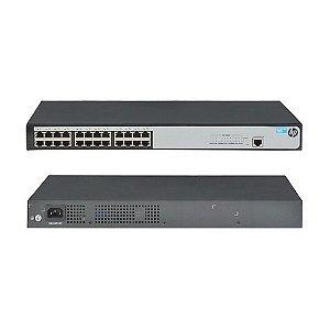 Switch HP 1620-24 Portas Gigabit RJ45 Gerenciável JG913A