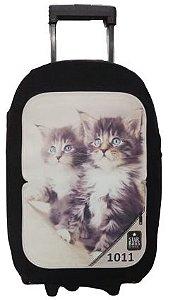 Capa para mala Star Bags Gatos