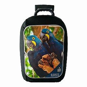 Capa para mala Star Bags Arara azul
