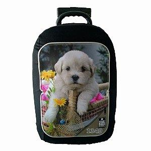 Capa para mala Star Bags Cachorro no cesto