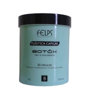 Felps Profissional Plástica Capilar Botóx de Ojon e Macadamia 1k