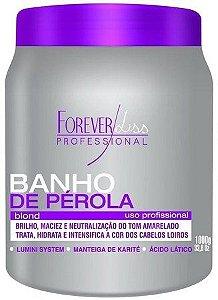 BANHO DE PÉROLA MÁSCARA MATIZADORA FOREVER LISS - 1 KL