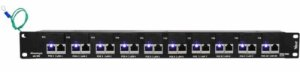 PATCH PANEL POE ALIMENTACAO ATE 48V-10P-90 BLINDADO VOLT