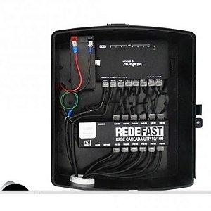 Combo UTP Fast Com Switch 8 Portas - Volt