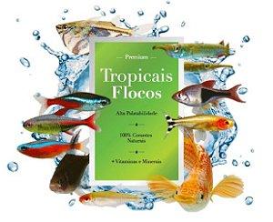 Rações Poytara Tropicais Flocos 1kg