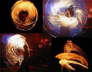 Swing fogo PRO - esfera SNAKE - PAR