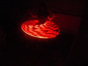 BamboPixel  smart hoop - bambolê LED com efeito POV