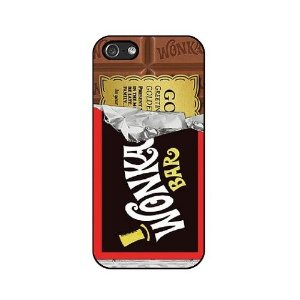 Capa Chocolate Willy Wonka para iPhone 5/5S/6/6 Plus