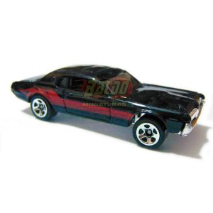 Hot Wheels - 68 Cougar - 2007 - Preto - Sem cartela (loose)