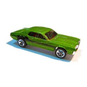 Hot Wheels - 68 Cougar - 2007 - Verde - Sem cartela (loose)
