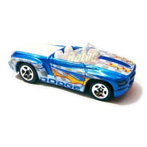 Hot Wheels - Dodge Sidewinder - 2007 - Pickup Azul - Sem cartela (loose)