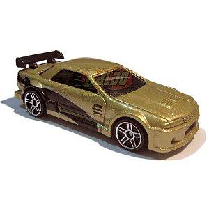 Hot Wheels - Nissan Skyline - Dourado - 2008 - Sem cartela (loose)