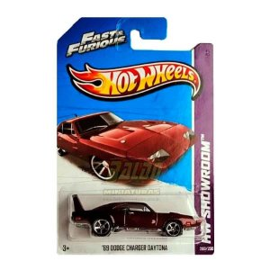 Hot Wheels - Fast & Furious - 69 Dodge Charger Daytona - Velozes e Furiosos