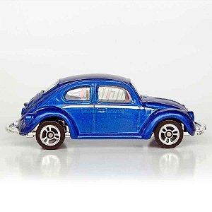Maisto - Vw Beetle 1300 - 2007 - Fusca Azul - Sem cartela (loose)