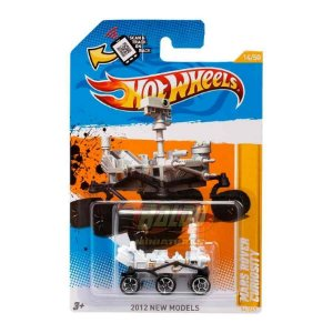 Hot Wheels - Mars Rover Curiosity (Rodas Pretas)