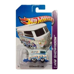 Hot Wheels - Volkswagen Kool Kombi - VW Branco