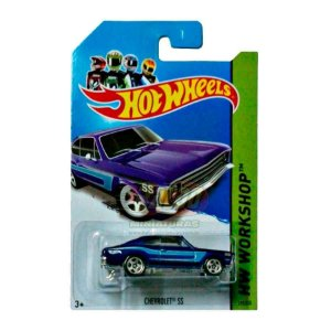 Hot Wheels - Chevrolet SS - Opala Azul