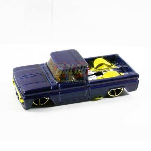 Hot Wheels - Custom 62 Chevy - Pickup Azul - Sem cartela (loose) (Customizada)