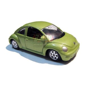 Welly - VW New Beetle (Fusca) - 2009 - Verde - Sem cartela (loose)