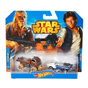 Hot Wheels - STAR WARS - Chewbacca & Han Solo