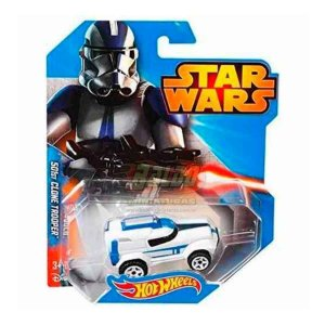 Hot Wheels - STAR WARS - 501st Clone Trooper