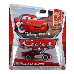 Cars Disney - Relâmpago McQUEEN - Aerodinâmico - (Cruisin Lightning McQueen)