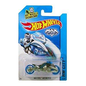 Hot Wheels - Max Steel Motorcycle - Preto e Cinza