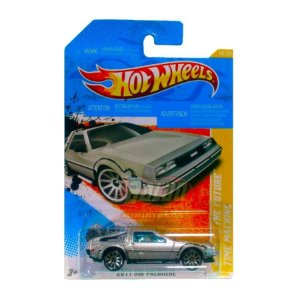 Hot Wheels - De volta para o futuro - Maquina do tempo (Back to the future - Time Machine)