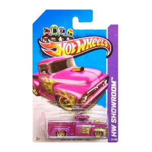 Hot Wheels - Custom 56 Ford F - 100 (Pickup Roxa)
