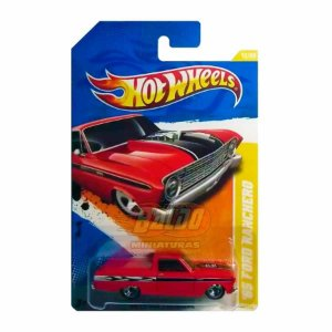 Hot Wheels - 65 Ford Ranchero (Pickup Vermelha)