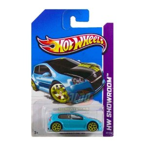 Hot Wheels - Volkswagen Golf GTI - VW Azul