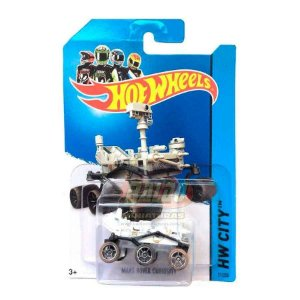 Hot Wheels - Mars Rover Curiosity (Rodas Marom)