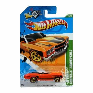 Hot Wheels - Treasure Hunts 2012 - 70 Chevy Chevelle Convertible