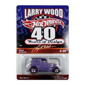 Hot Wheels - A-OK Larry Wood 40 anos