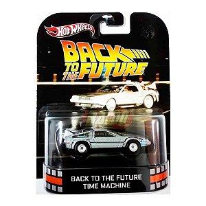 Hot Wheels - Back To The Future Time Machine - De volta para o Futuro - Retro Entertainment 2013