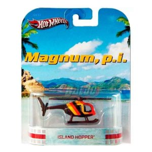 Hot Wheels - Island Hopper - Magnum P.I. (Helicoptero)  - Retro Entertainment 2013