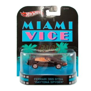 Hot Wheels - Ferrari 365 GTS4 Daytona Spyder - Miami Vice - Retro Entertainment 2013
