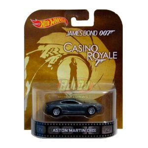 Hot Wheels - Aston Martin DBS - James Bond 007 - Casino Royale - Retro Entertainment 2014