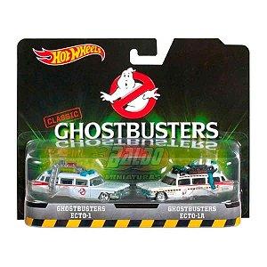 Hot Wheels - Set Ghostbusters - ECTO-1 e ECTO-1A