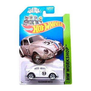 Hot Wheels - VW Beetle - Herbie - The Love Bug - Fusca