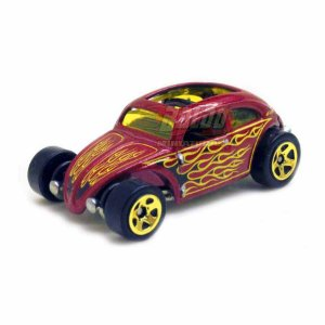 Hot Wheels - VW Custom Beetle - Fusca - 2011 - Sem cartela (loose)