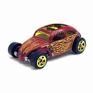 Hot Wheels - VW Custom Beetle - Fusca - 2011 - Sem cartela (loose)