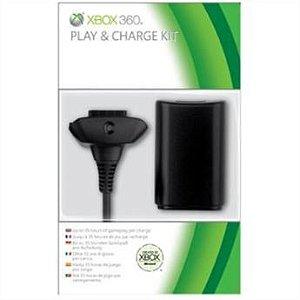 Xbox360 - Play & Charge Kit Black