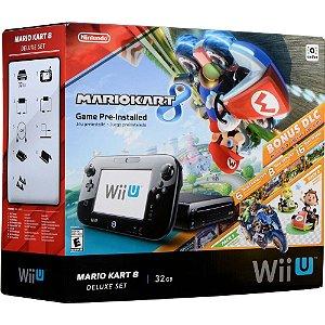 Wii U - Console Nintendo Wii U 32Gb Preto - Edição Mario Kart 8