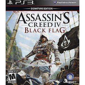 PS3 - Assassin´s Creed IV: Black Flag - Signature Edition