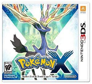 3DS - Pokémon X