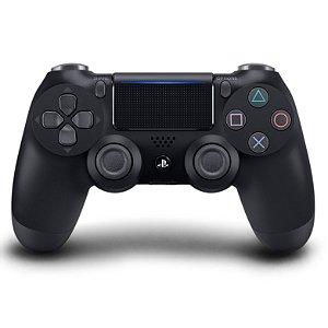 PS4 - Controle Sem Fio Dualshock 4 - Preto