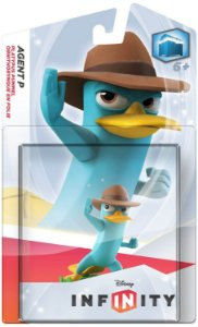 Disney Infinity - Personagem Individual - Agent P - Perry